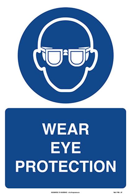 Wear Eye Protection FHS - 27