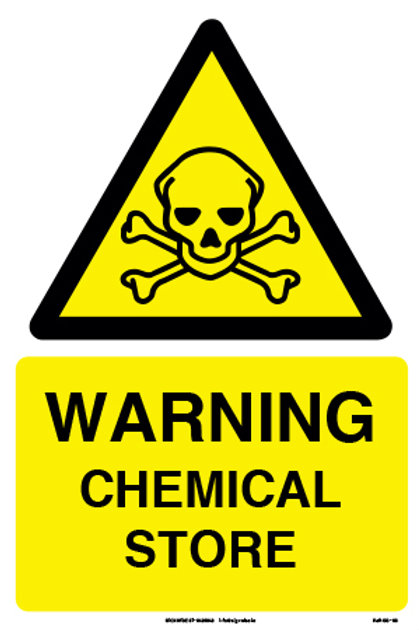 Warning Chemical Store (SS-06)