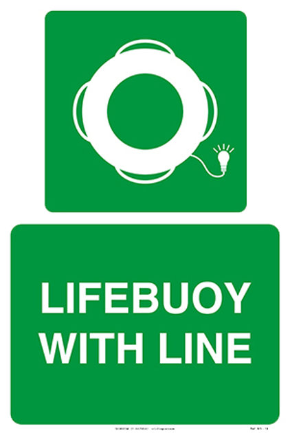 Lifebuoy With Line and Light WS - 19