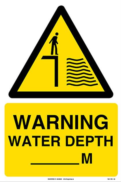 Warning Water Depth _M WS - 03