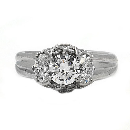 2.75ct FVS GIA Certified Diamond Engagement Ring