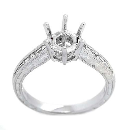 .50 FGVS Diamond Engagement Ring Mounting