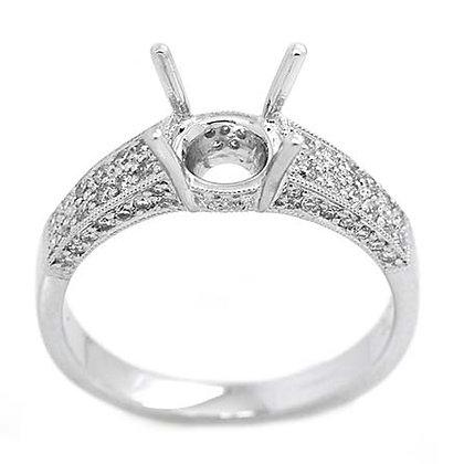 .40 FGVS Diamond Engagement Ring Mounting