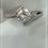 Thumbnail: Contemporary Platinum 1 ct Diamond Ring