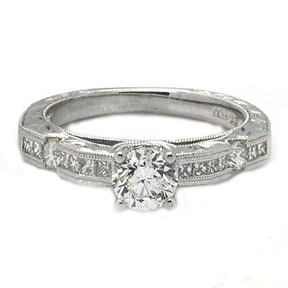 1.20ct GVS GIA Certified Engagement Ring