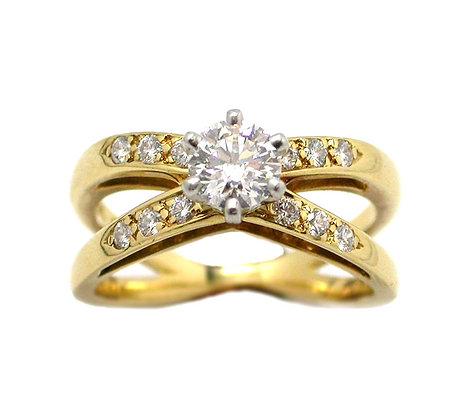 Original Tiffany&Co .90ct DVVS Round Shape Diamond