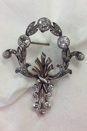 Early 1900's Floral Pin