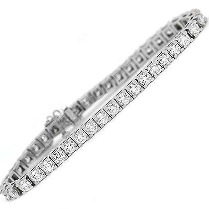 Magnificent 14K Diamond Tennis Bracelet 8 Cts
