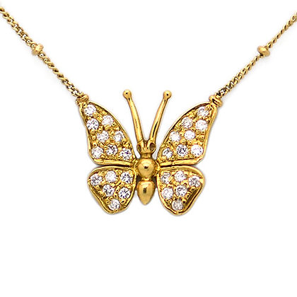 Original Roberto Coin Butterfly Necklace