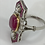 Thumbnail: Vintage 1930's Ruby Diamond Ring