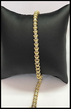 14K Y Gold Diamond Tennis Bracelet