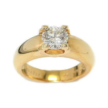 Original Cartier Solitaire Engagement Ring 1.23ct