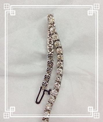 4 1/2 cts 3 Prong Tennis Bracelet