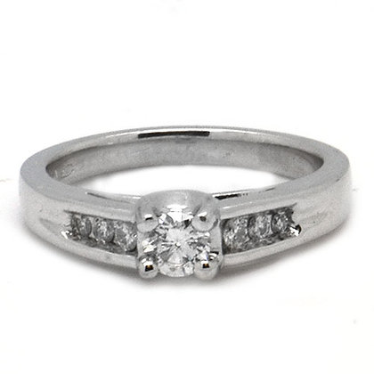 .56ct Unique FSI Diamond Engagement Ring PLT