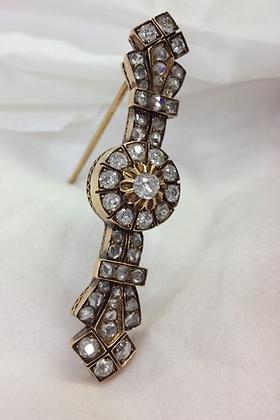 Early 1900's Old Cut Diamond Pin