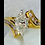 Thumbnail: 3/4 ct Yellow Gold Marquise Ring