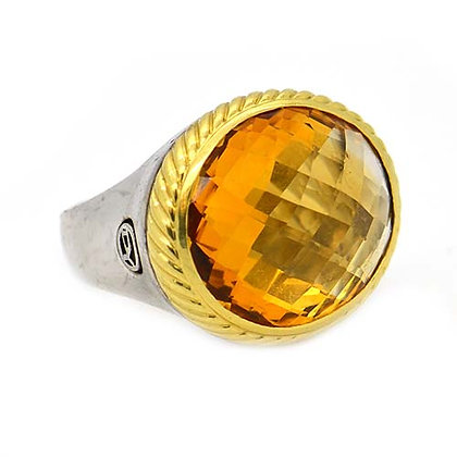 Original David Yurman Citrine Ring