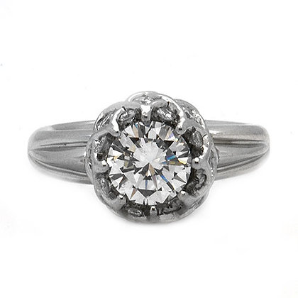 2.36ct IVS Platinum Diamond Engagement Ring
