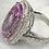Thumbnail: 26.60 cts Kunzite, 1.60 cts Diamond Masterpiece