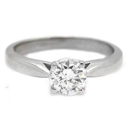 1 Ct F/G SI Unique Diamond Engagement Ring