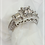 Thumbnail: Princess Cut Diamond Engagement Ring 1.85 cts