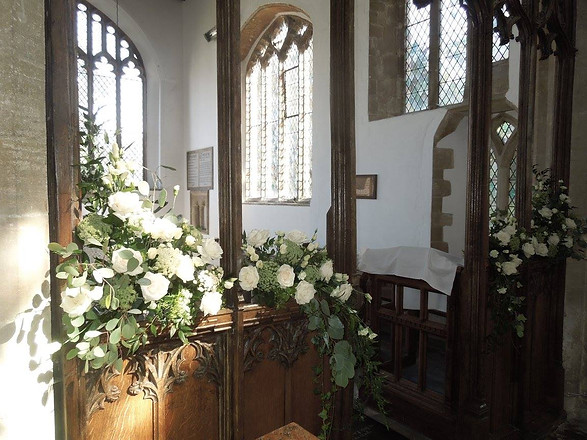 Flowers for a Church Screen