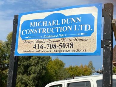 Michael Dunn Sign Board