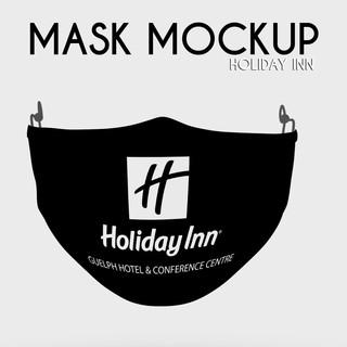 Holiday Inn Modern Fabric Face Mask
