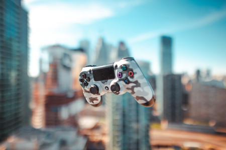 PS4 Controller Product Photography