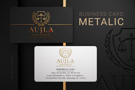 Aujla Law Business Card