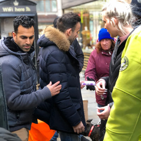 Vector Capital Group 'Help The Homeless Hampers'