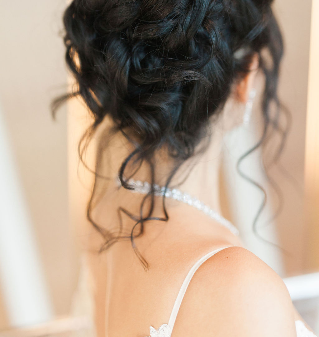 Hair by Carly of Glam In Van, photo by Nomo Simply Sweet Photograpy