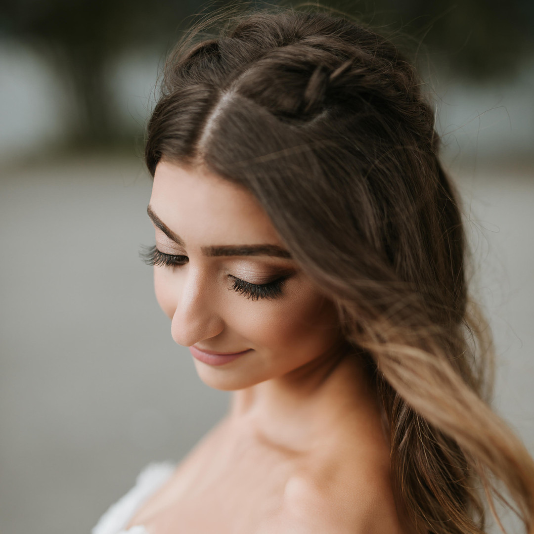 makeup and hair by Carly Martin of Glam In Van, Photo by Celine Richardson