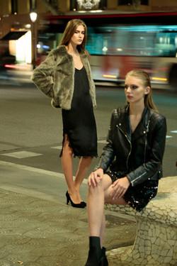 Models Melissa Vox e Lisa Elmers