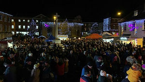 Christmas Fayre and Lights Switch On