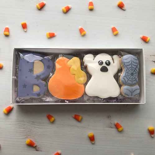 BOO! Set of 4