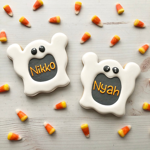 Single Ghost Name Cookie!