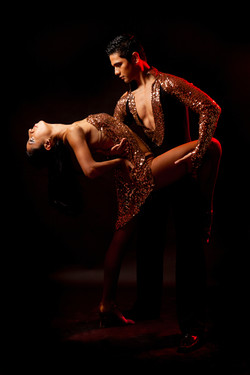 Couple Latin Dance