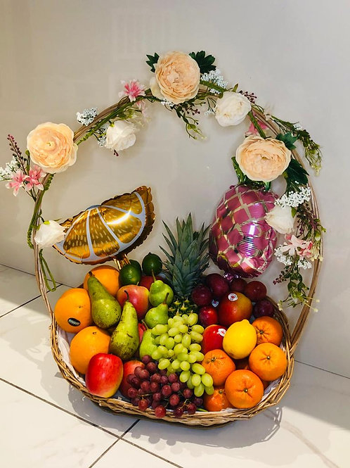 Delux Special Occasions Fruit Basket - Min 48 Hour Delivery