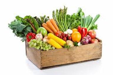 Mixed Fruit, Veg and Salad