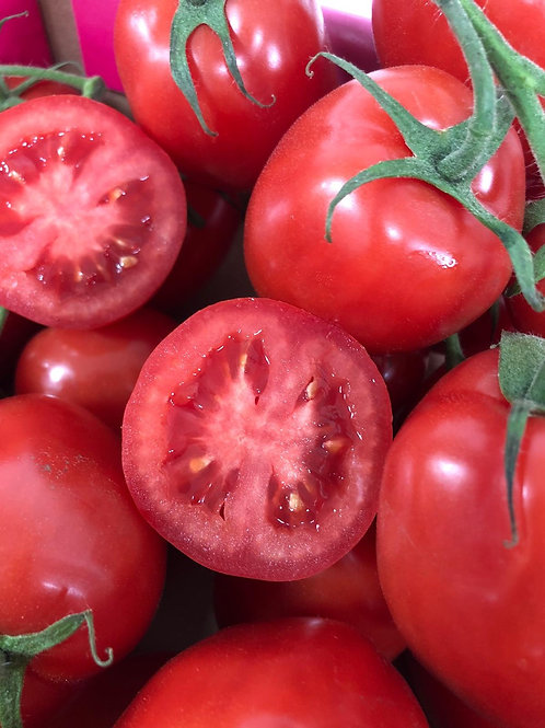 Tomatoes (Ruby Red, vine, plum tomatoes)