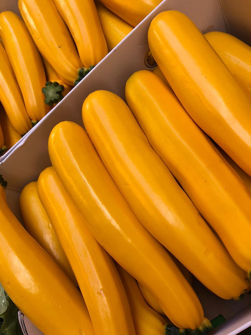 Courgettes (yellow)