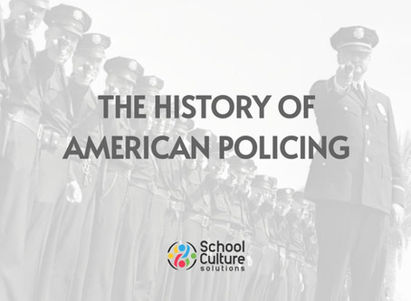 8. The History of US Policing