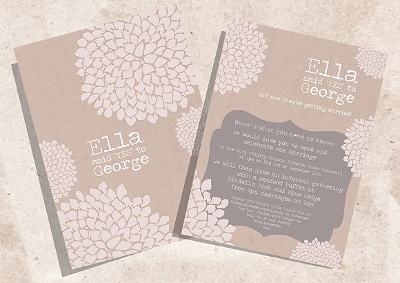 Chrysanthemum Invite