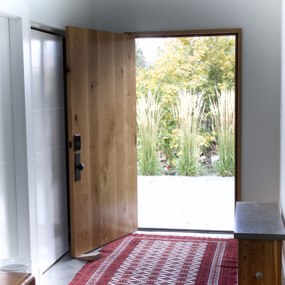 front doors should be made of oak