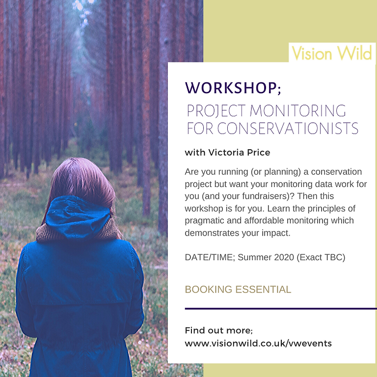 Workshop: Impact monitoring for wildlife conservation projects