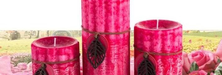 CD010 -Candles (Velvet Rose)