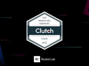 Clutch Awards Rocket Lab as Best Mobile Marketing Agency in Spain