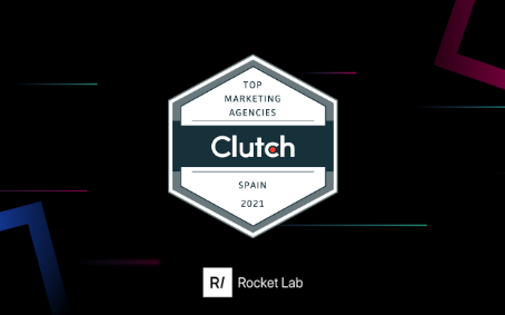 Clutch Awards Rocket Lab as Best Mobile Marketing Agency in Spain