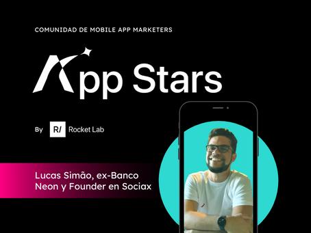 Lucas Simão, ex-Banco Neon y Founder en Sociax